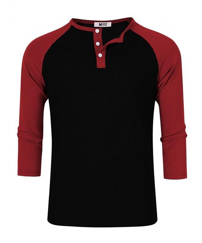 MrWonder Casual Raglan Baseball T Shirts