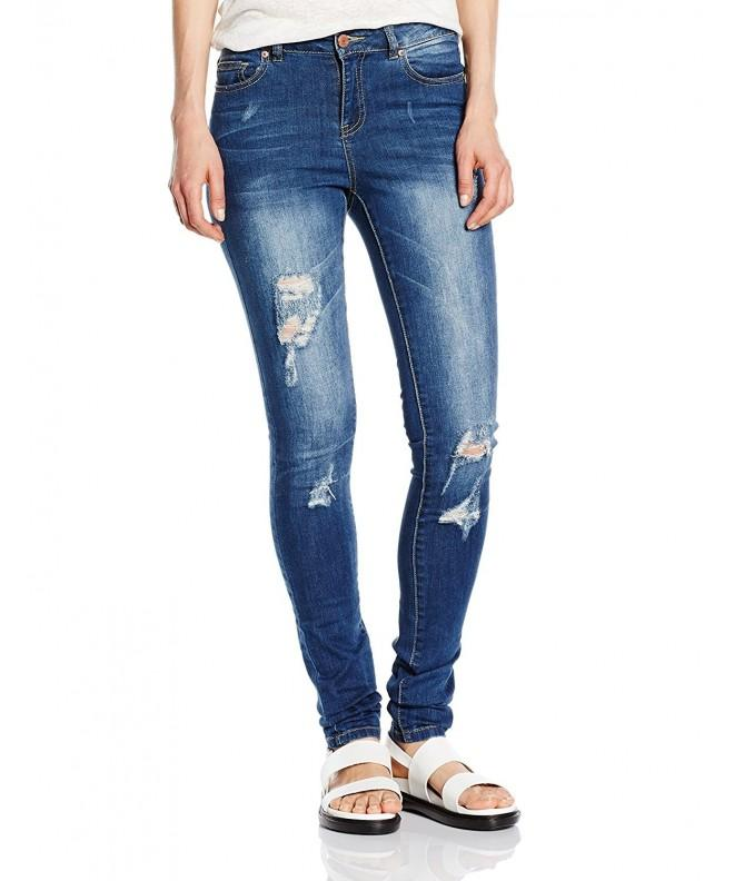 Noisy May Womens Destructed Medium