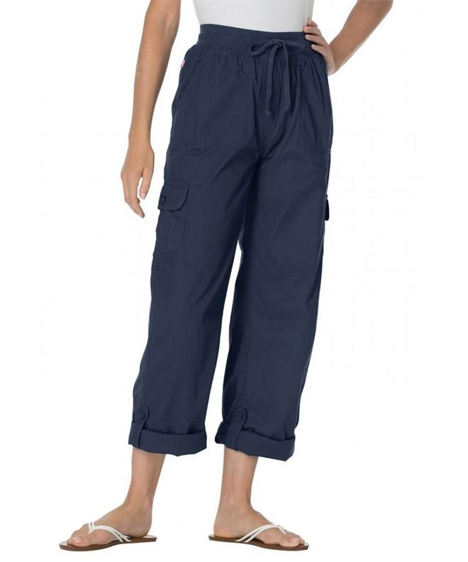 Womens Plus Pants Convertible Length