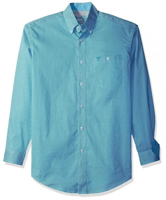 Wrangler Competition Pocket Sleeve Turquoise