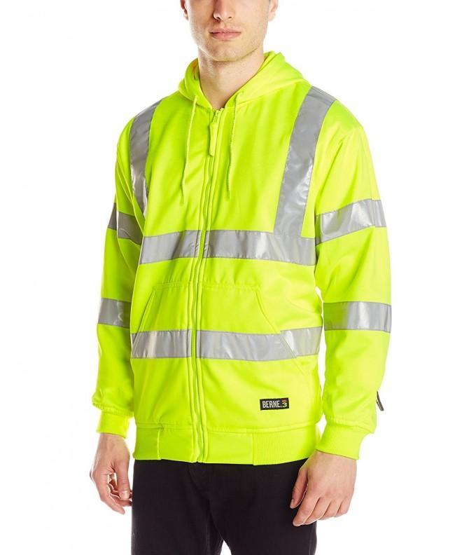 Berne Hi Visibility Sweatshirt 3X Large Regular