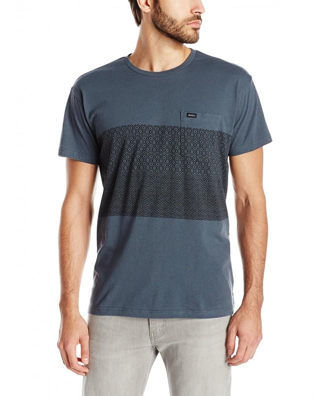RVCA Mens Shirt Stormy Large