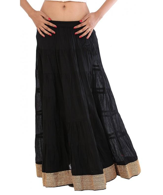 Skirts Scarves Womens Cotton Golden