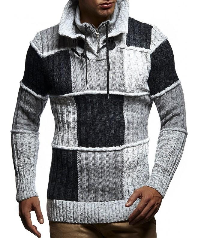 Leif Nelson LN5500 Mens Pullover