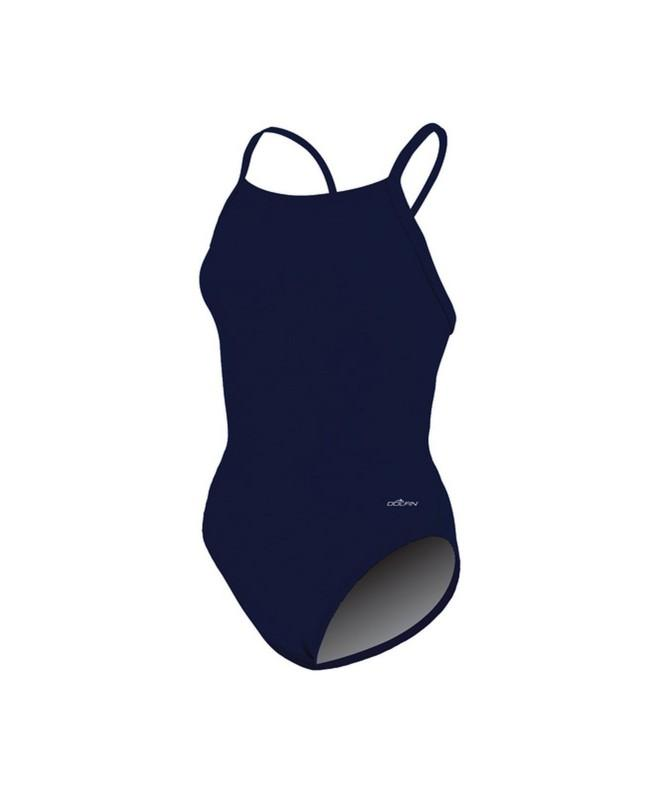 Dolfin Swimwear Solid V 2 Back