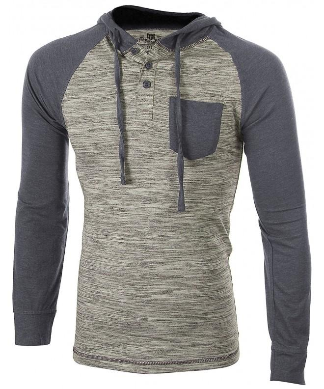 Enimay T Shirt Pullover Heather Charcoal