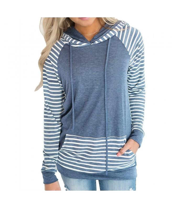 Naier Sweatshirt Pullover Sweaters Striped