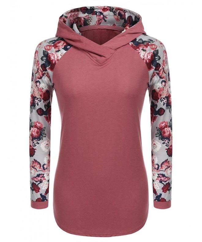 Soteer Womens Casual Pullover Sweatshirt