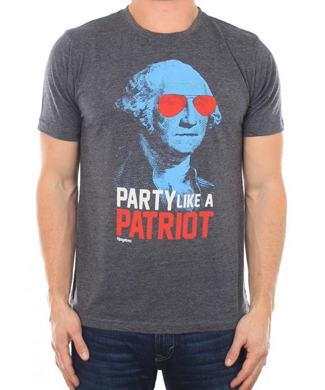 Mens Party Patriot Drinking Shirt