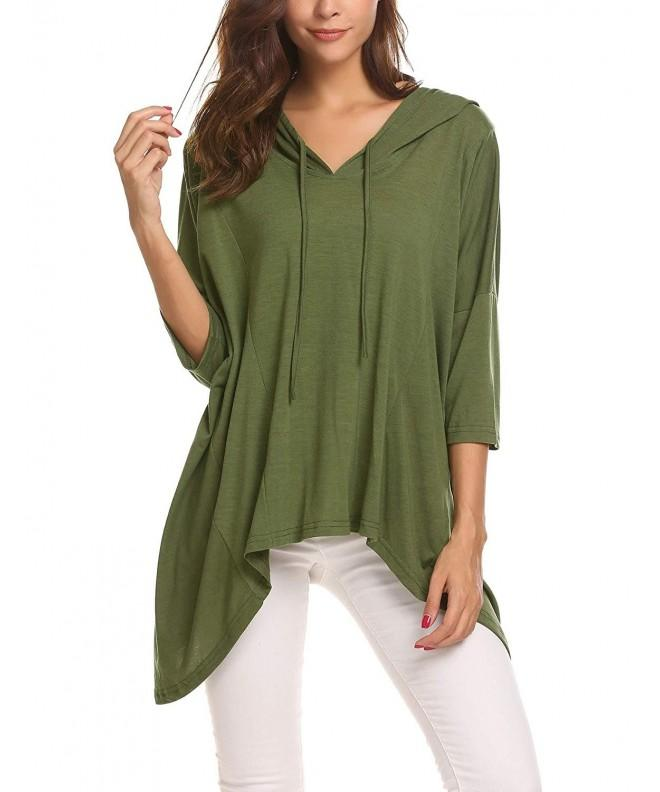 Elesol Batwing Sleeves Slouchy Pullover