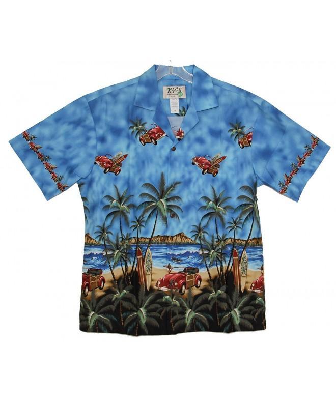 Waikiki Fantasy Hawaiian Aloha Shirt