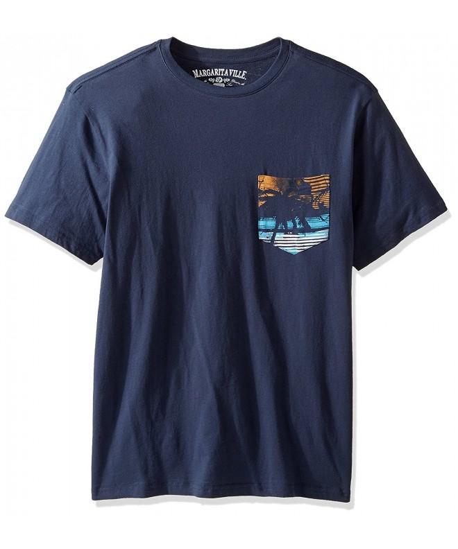 Margaritaville Sleeve Lifestyle Pocket T Shirt