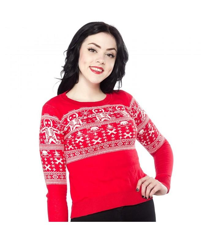 Sourpuss SPSW18RED L Gingerdead Sweater