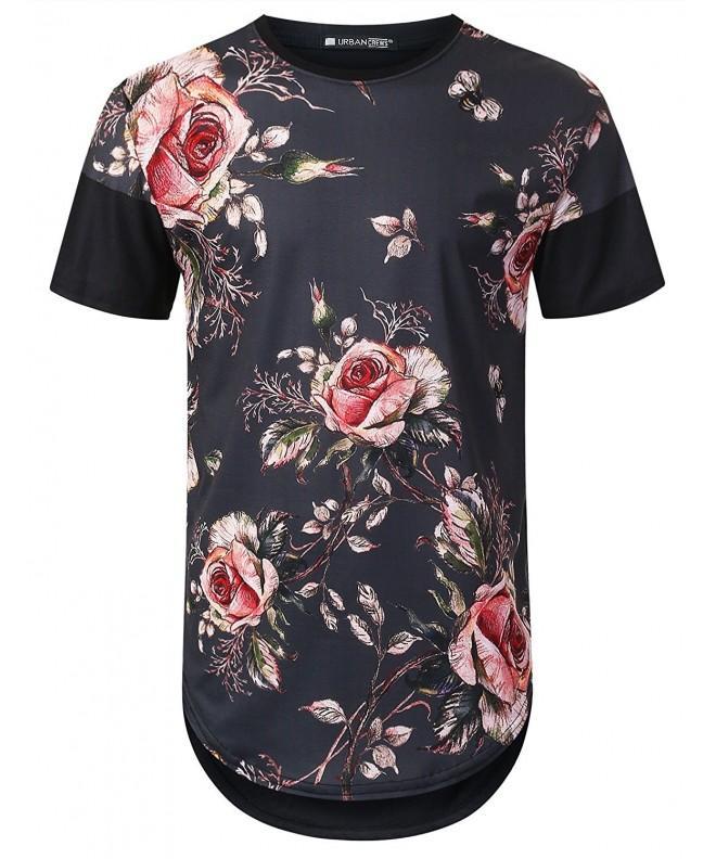 URBANTOPS Hipster Vintage Longline T Shirt