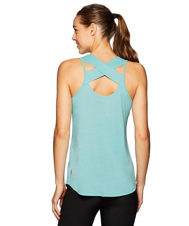 RBX Active Womens Strappy Heather
