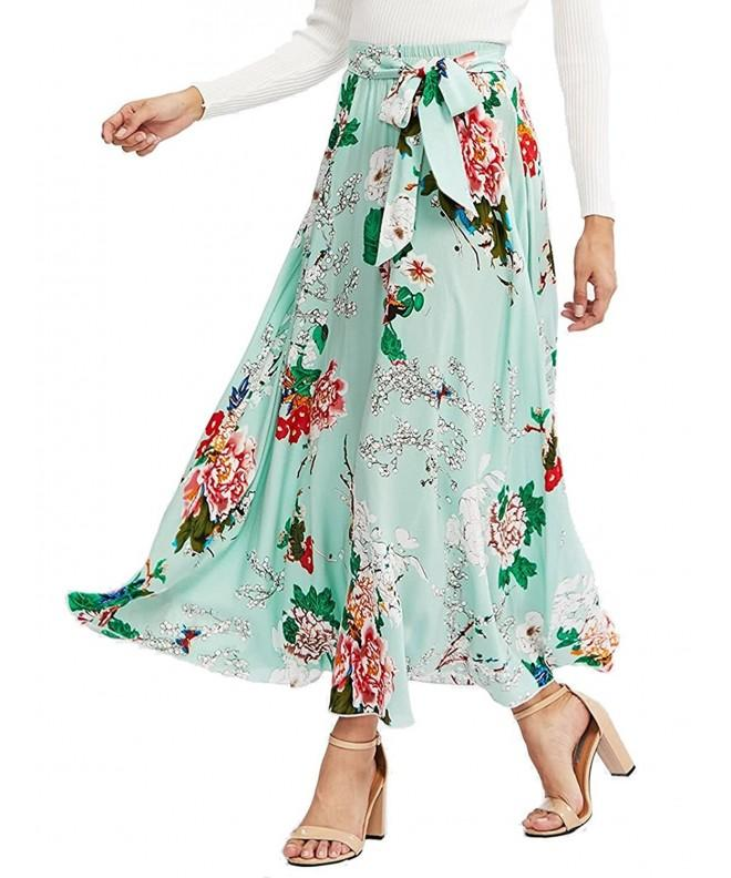 Milumia Womens Bohemian Floral Green 1