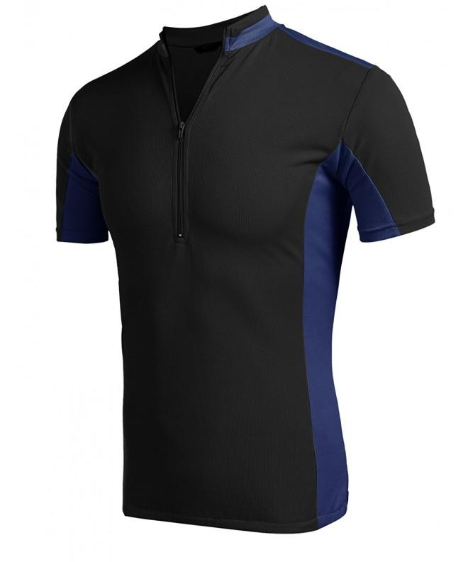 Coofandy Sleeve Cycling Jersey Breathable