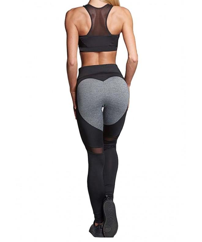 Manluo Womens Loving Workout Leggings