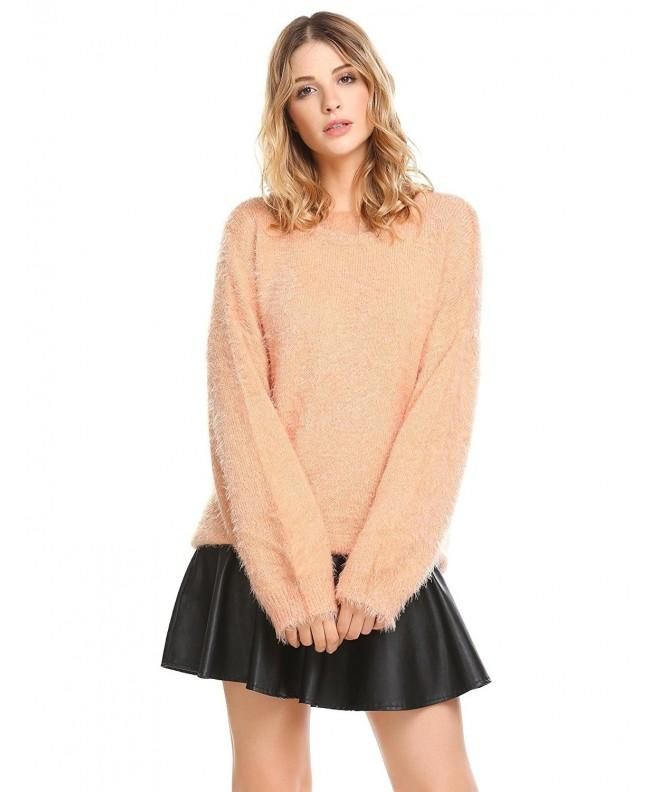 Sholdnut Sleeve Mohair Oversized Sweaters