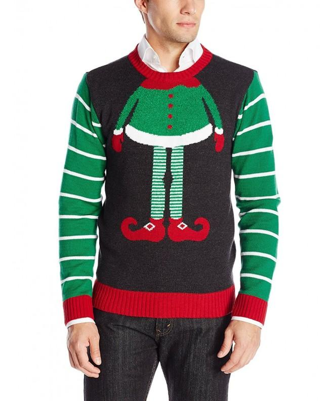 Ugly Christmas Sweater Mens Head