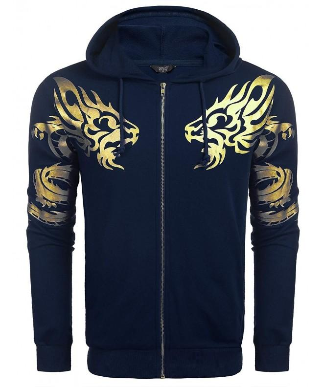 Coofandy Graphic Lightweight Fashion Sweatshirt
