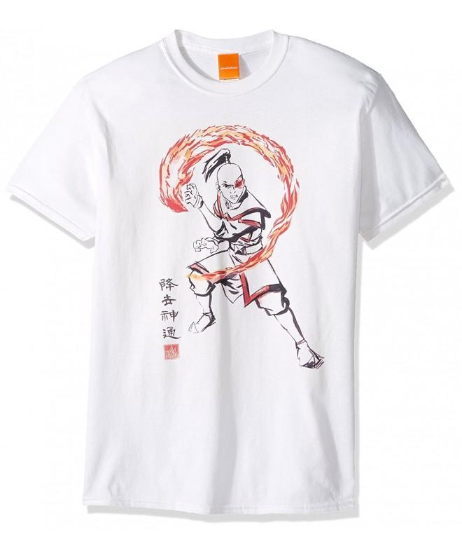 Nickelodeon Mens Zuko T Shirt White