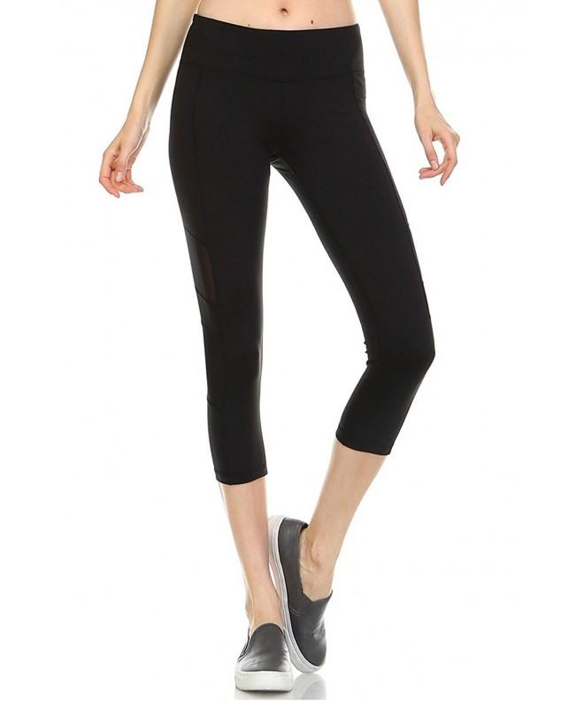 12 Ami Mesh Stretch Leggings