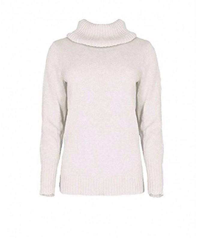 Nautica Womens Knitted Turtle Sweater