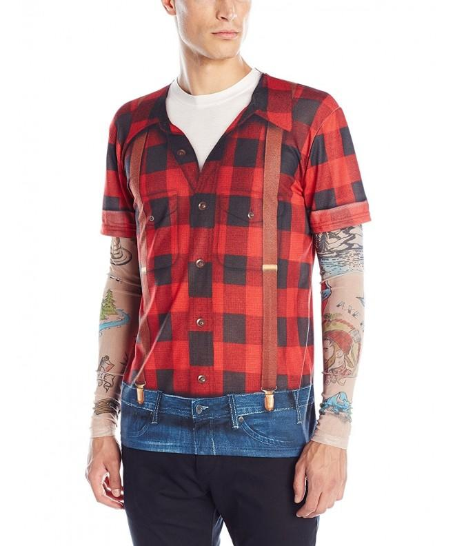 Faux Real Lumbersexual Tattoo Sleeves
