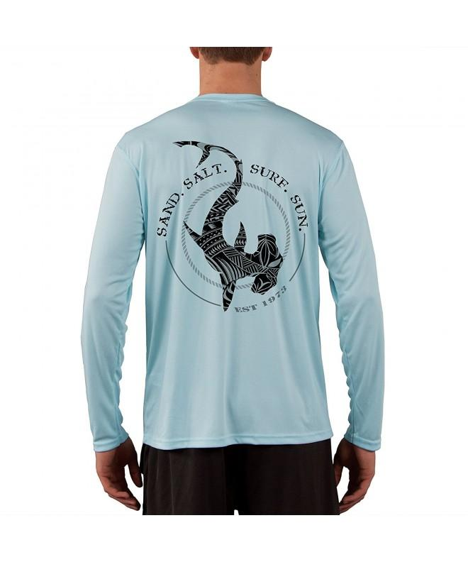 Polynesian Hammerhead Tribal Sleeve T Shirt