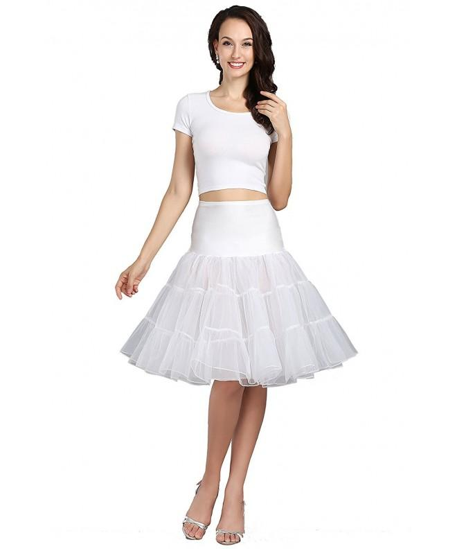 Wowbridal Womens Vintage Petticoat Underskirt