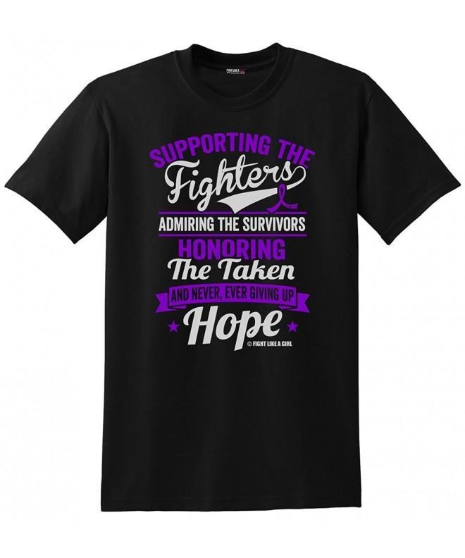 Supporting Admiring Honoring Purple T Shirt