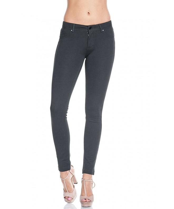Ambiance Juniors Stretchy Jeggings Heather