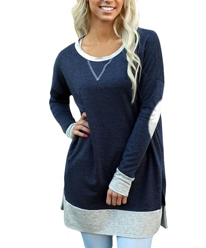 ZKESS Fashion Sweatshirt Pullover Blouses