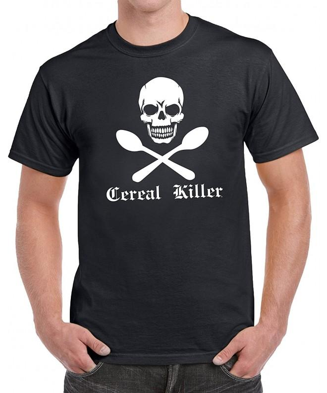 tees geek Cereal Novelty T Shirt