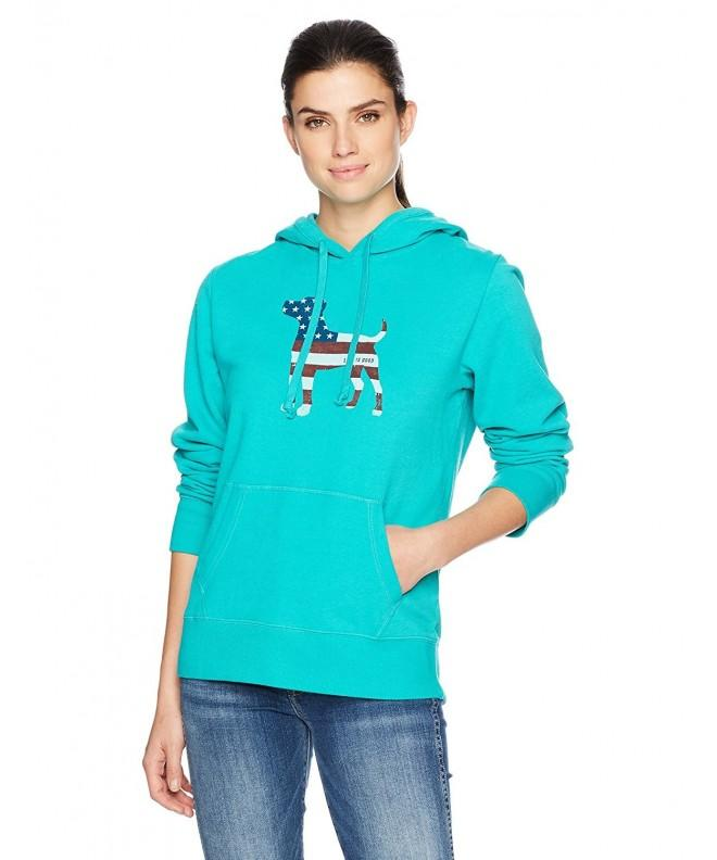 Life Good Womens Hoodie Bright