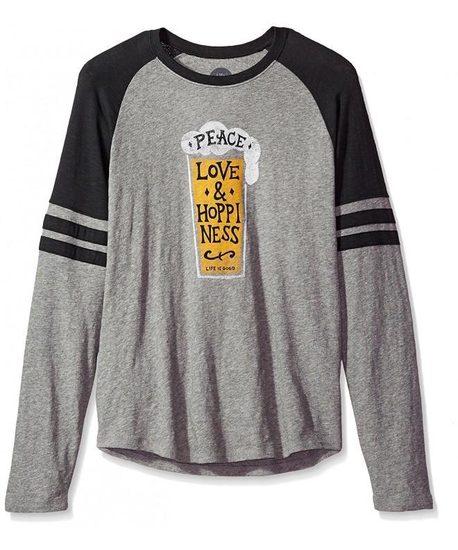 Life Vintage T Shirt Heather XX Large