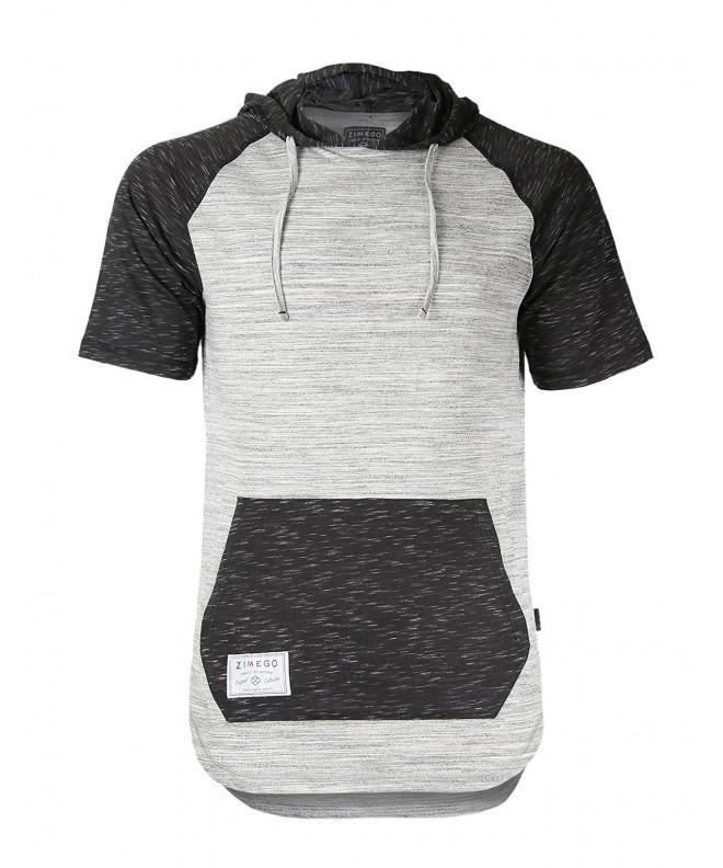 ZIMEGO Longline T Shirt X Large Fulfilled