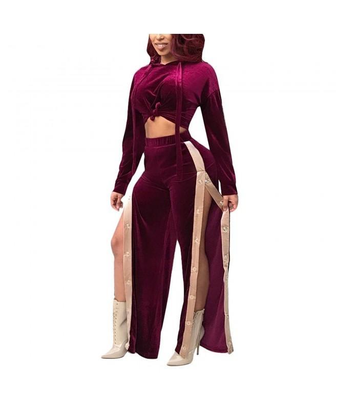 Women Sleeve Jumpsuits Clubwear Purple