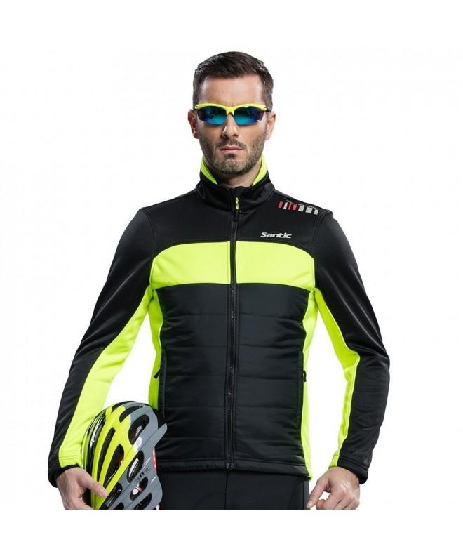 Santic Cycling Jacket Windproof Thermal