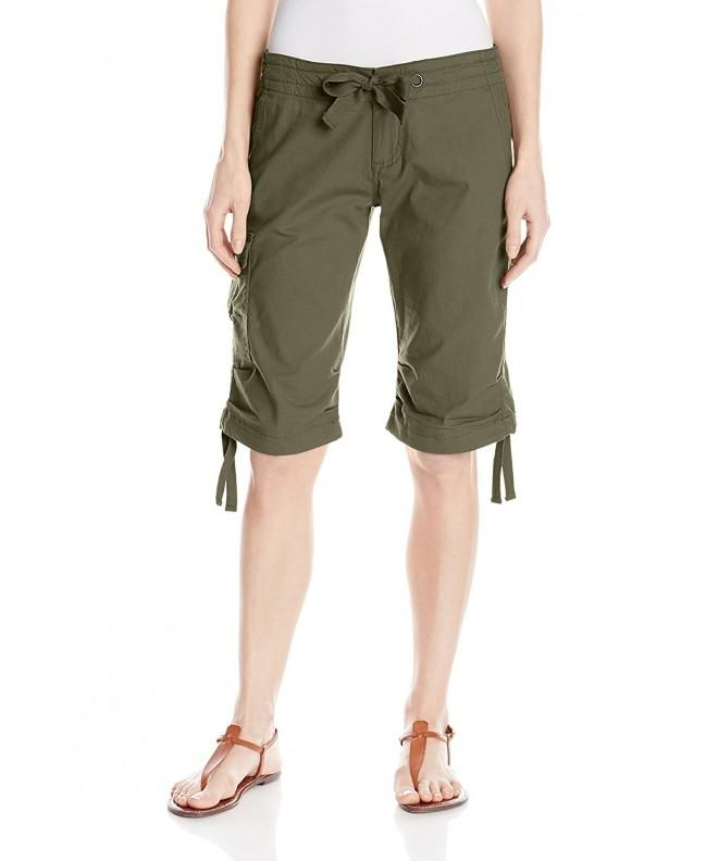 prAna Womens Knickers Cargo Green
