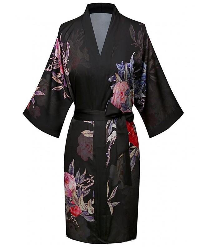 ExpressBuyNow Womens Print Kimono Short