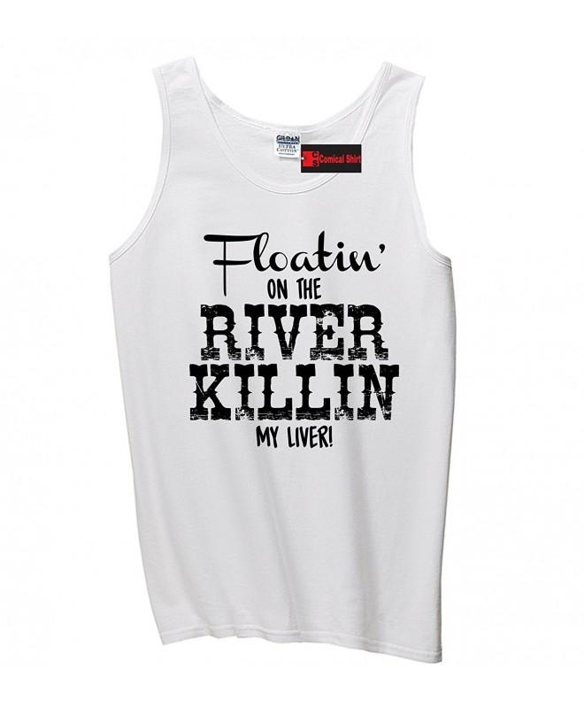 Comical Shirt Floating River Killing