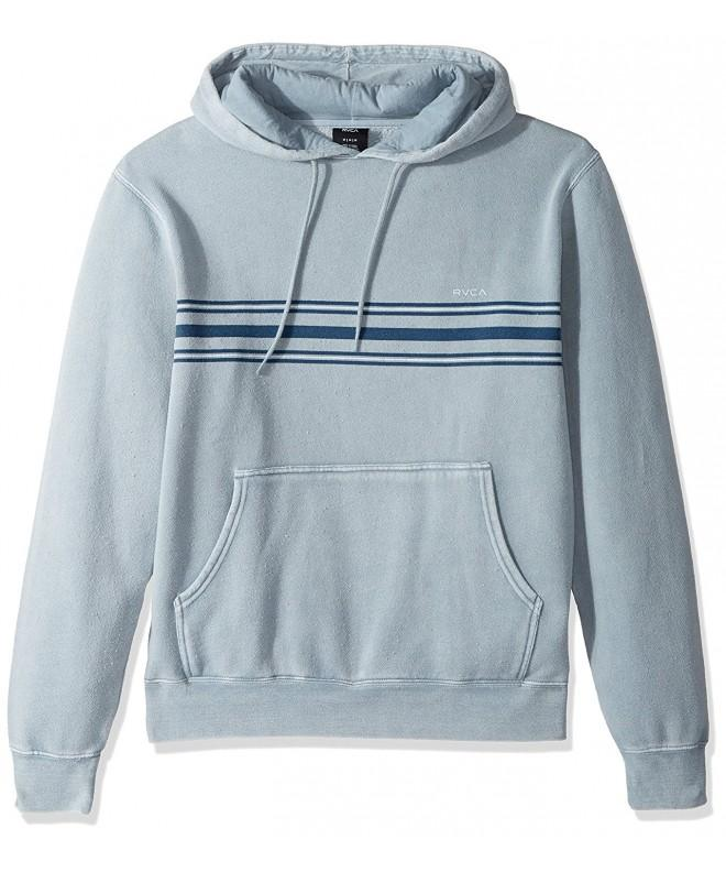RVCA Stripe Fleece Hoodie Medium