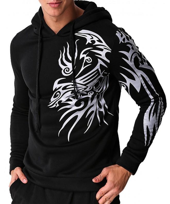 MODCHOK Printed Hoodies Sweatshirt Pullover