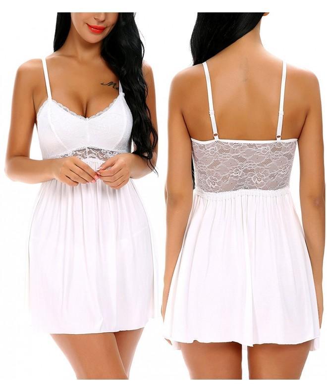 Monrolove Babydoll Lingerie Women Nightwear