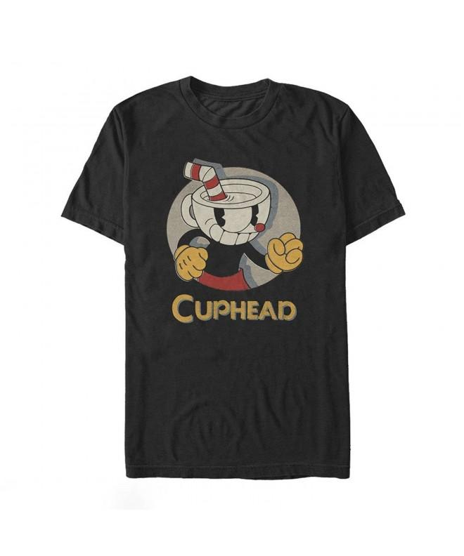 Fifth Sun Cuphead Portrait T Shirt