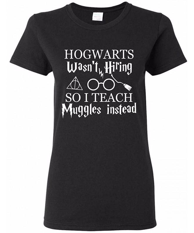 Hogwarts Muggles Teacher T Shirt X Large