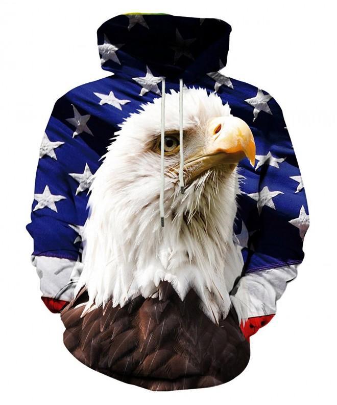 LAIDIPAS Realistic Digital Pullover Sweatshirt
