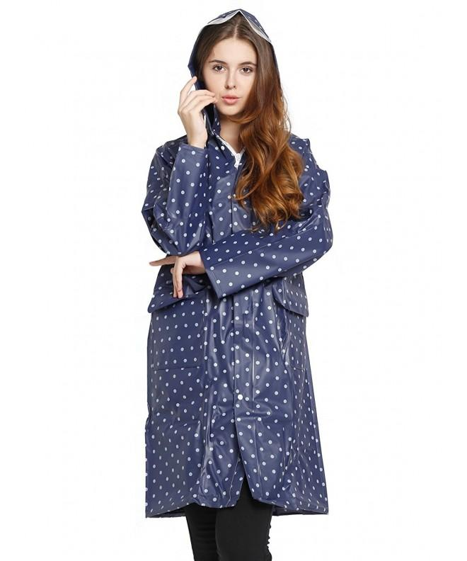 Spring fever Womens Poncho Raincoat